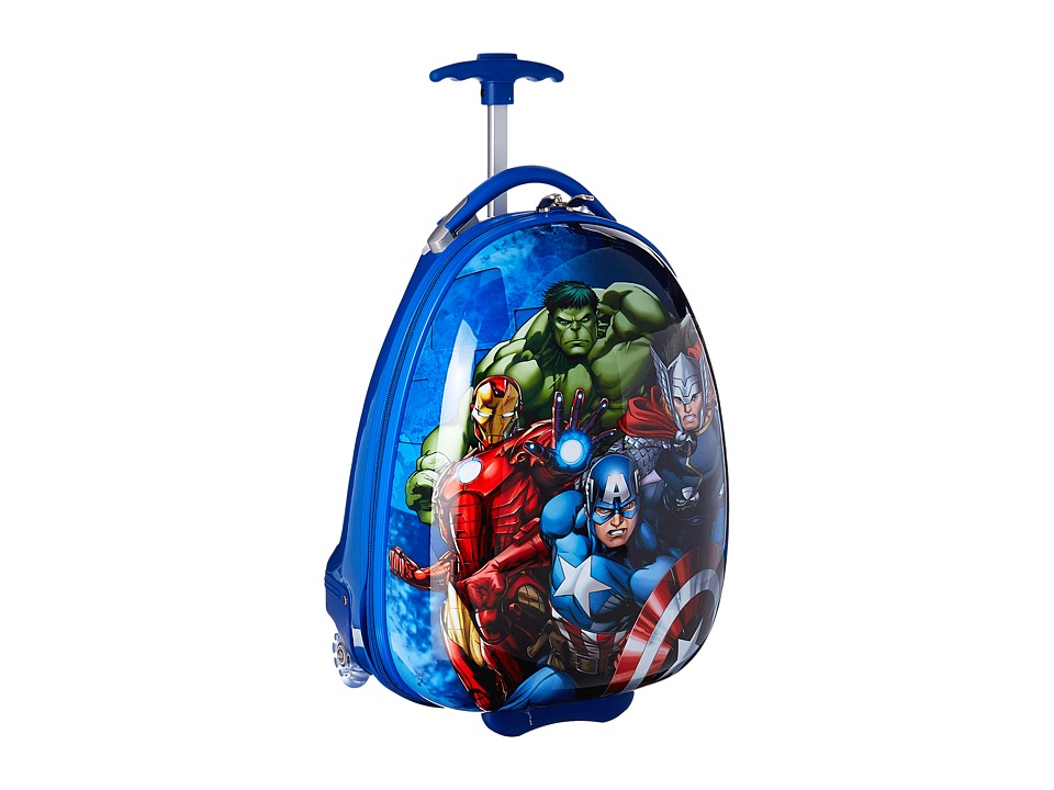 Heys America - Marvel Avengers Kids Luggage (Light Blue) Luggage