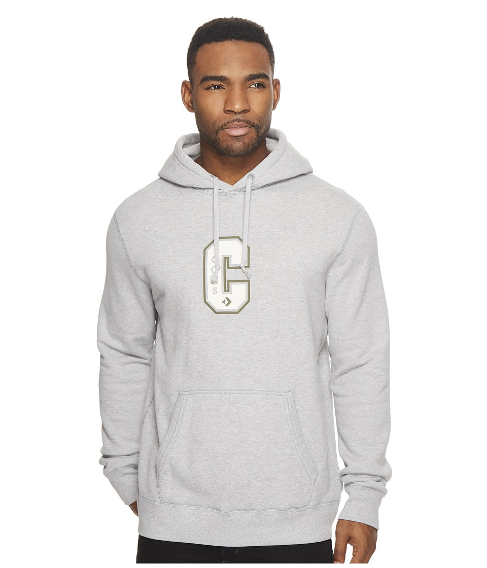 Converse Cons Varsity Hoodie (Light Grey Heather) Men