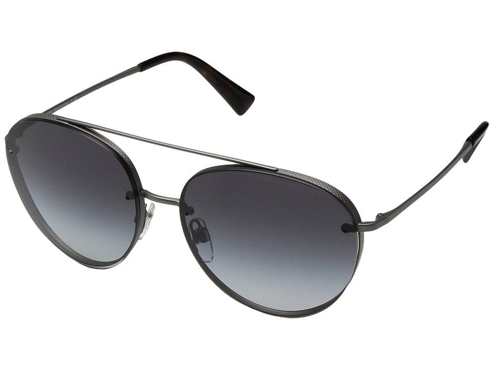 Valentino - 0VA2009 (Matte Gunmetal/Smoke Gradient) Fashion Sunglasses