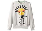 Fendi Kids - Long Sleeve Sweat Top w/ Lightbulb Design on Front (Big Kids)