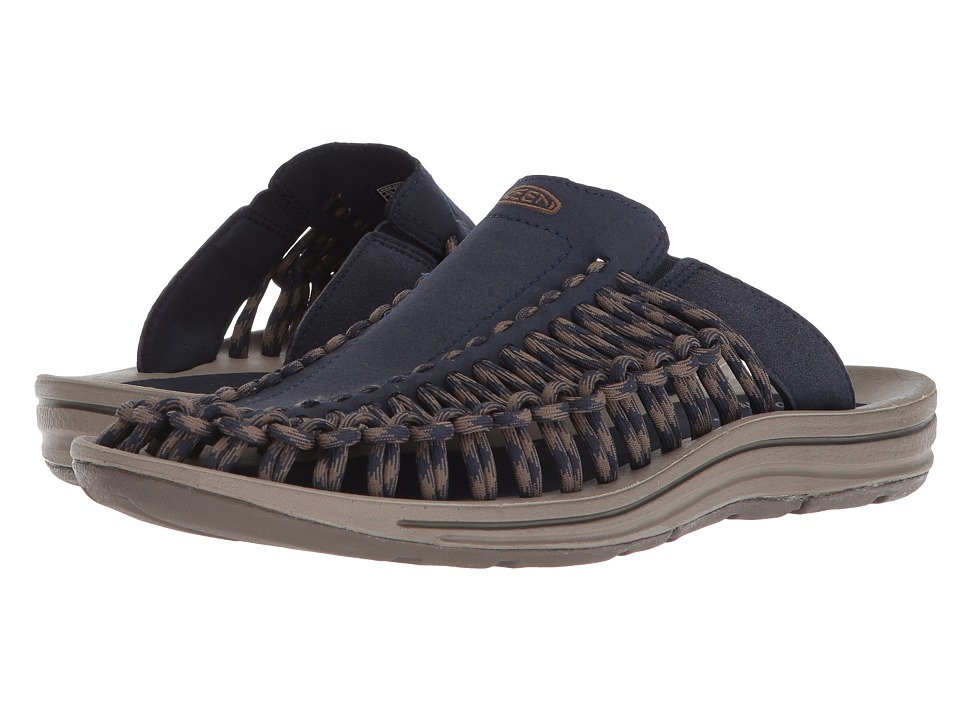 Keen - Uneek Slide (Dress Blues/Canteen) Men's Sandals