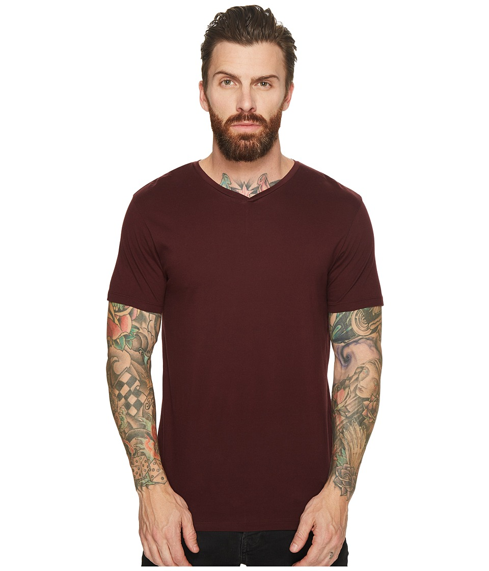 Scotch & Soda - V-Neck Tee in Clean Jersey Quality