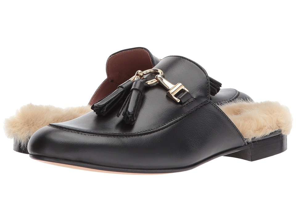 Summit by White Mountain Abelle (Black Leather/Fur) Women