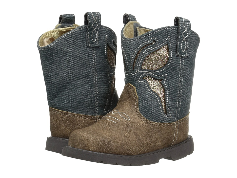 Baby Deer - First Steps Western Butterfly Boot