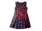 Oscar de la Renta Childrenswear Degrade Poppies Mikado Party Dress (Toddler/Little Kids/Big Kids)