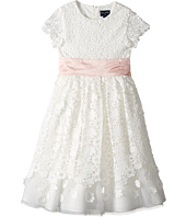 Oscar de la Renta Childrenswear - Emma Tulle Dress with Guipure Lace (Toddler/Little Kids/Big Kids)