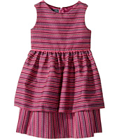 Oscar de la Renta Childrenswear - Tweed Scallop Hem Layer Dress (Toddler/Little Kids/Big Kids)