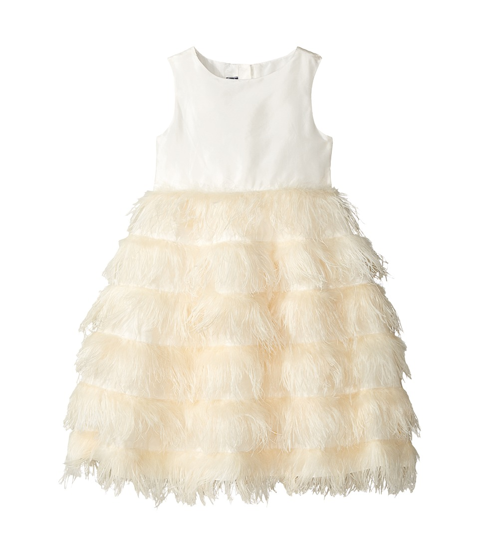 Oscar de la Renta Childrenswear - Ostrich Feather Party Dress