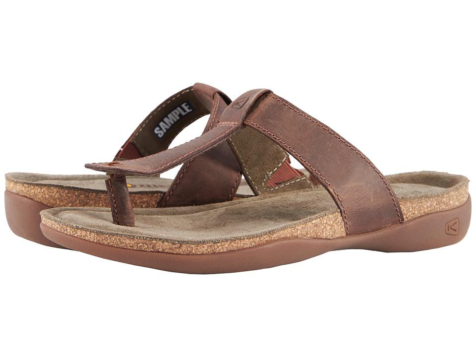 Keen Ana Cortez Flip (Tortoise Shell) Women's Shoes