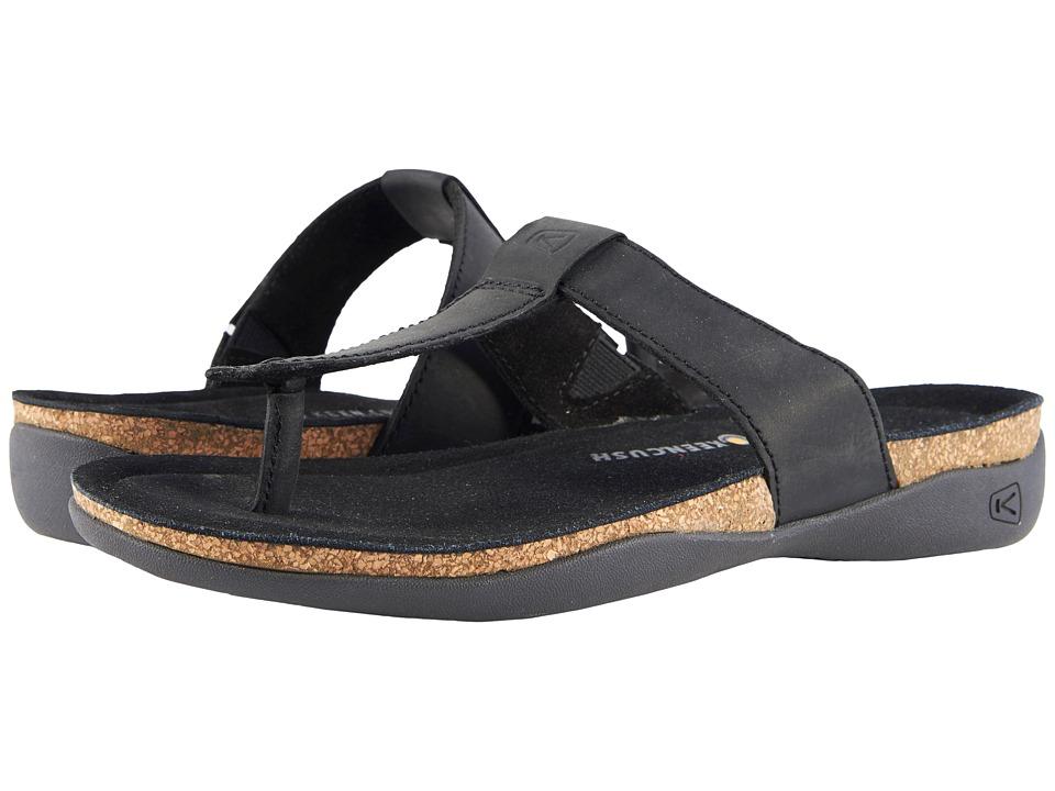 Keen Ana Cortez Flip (Black) Women's Shoes