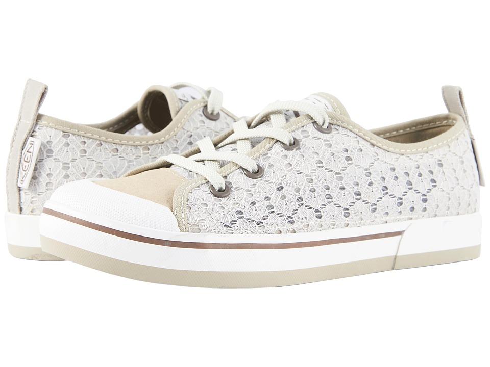 Keen Elsa Crochet (Silver Birch/Canteen) Women's Shoes