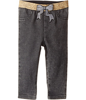 Little Marc Jacobs - Denim Effect Trousers with Bow Patch (Infant)