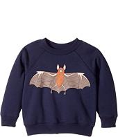 mini rodini - Flying Bat Sweatshirt (Infant/Toddler/Little Kids/Big Kids)