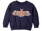 mini rodini Flying Bat Sweatshirt (Infant/Toddler/Little Kids/Big Kids)