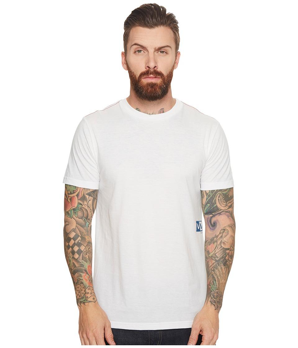 RVCA - Glitch Box Tee (Antique White) Mens T Shirt