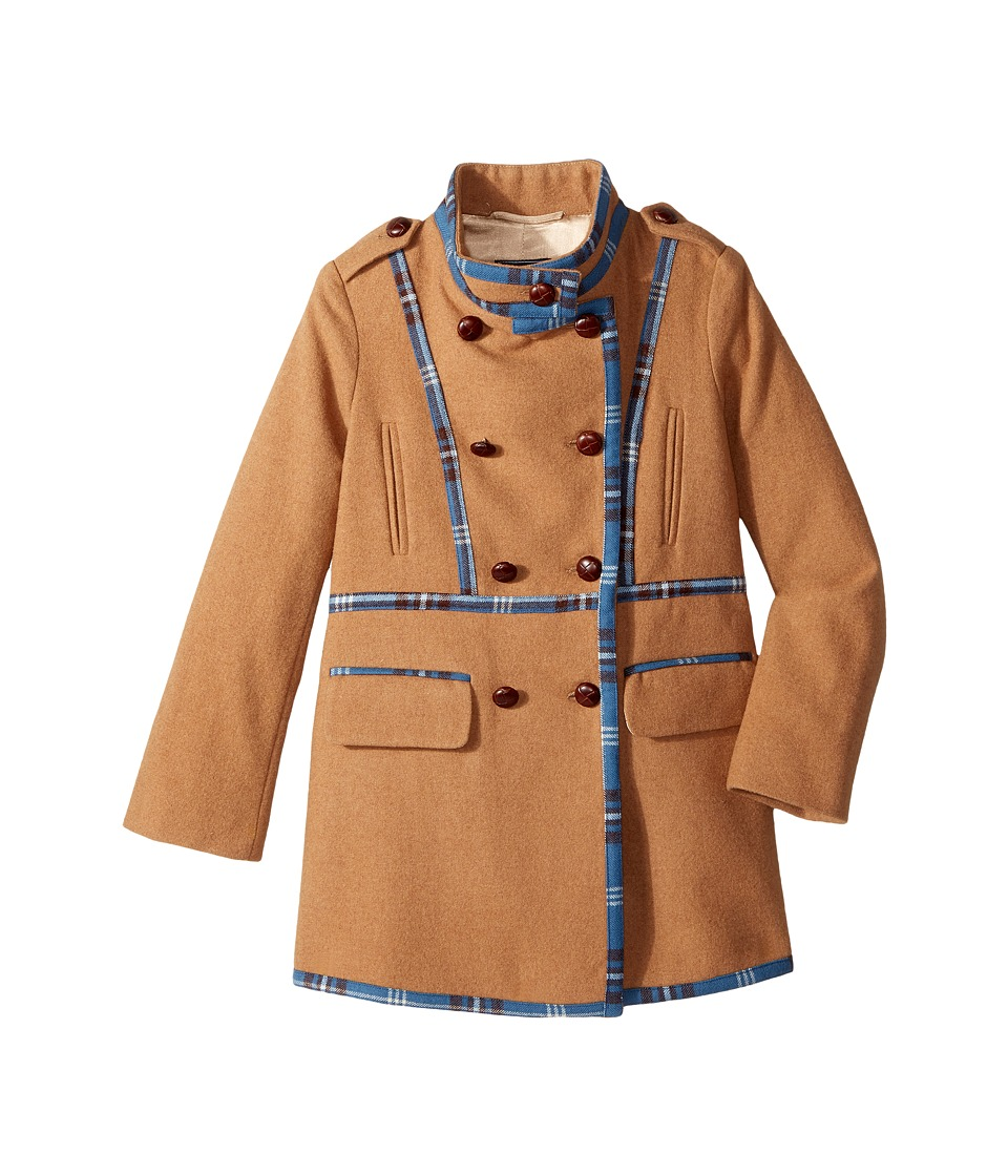 Oscar de la Renta Childrenswear - Wool Drill Coat