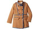 Oscar de la Renta Childrenswear - Wool Drill Coat (Toddler/Little Kids/Big Kids)