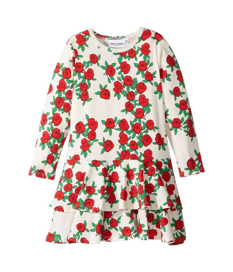 mini rodini - Rose Long Sleeve Frill Dress