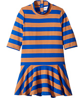 mini rodini - Block Stripe Dance Dress (Infant/Toddler/Little Kids/Big Kids)