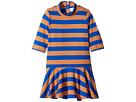 mini rodini - Block Stripe Dance Dress (Infant/Toddler/Little Kids/Big Kids)