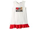 Moschino Kids I Love My Moschino' Teddy Bear Sleeveless Dress (Infant/Toddler)