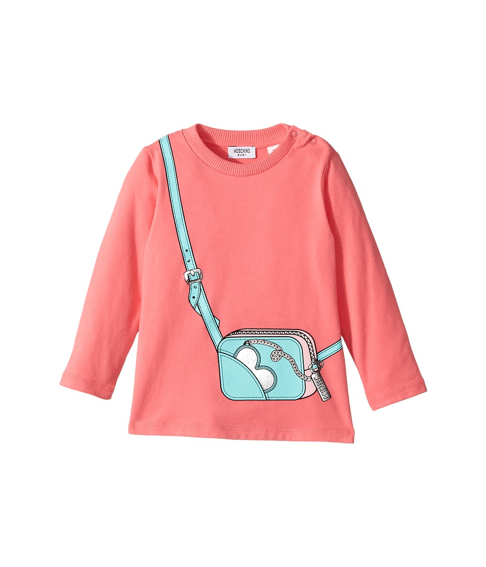 Moschino Kids - Long Sleeve Purse Graphic T