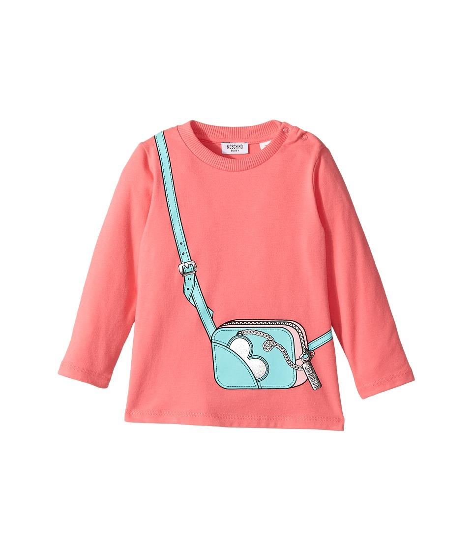 Moschino Kids - Long Sleeve Purse Graphic T-Shirt