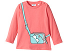 Moschino Kids - Long Sleeve Purse Graphic T-Shirt (Infant/Toddler)