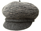 SCALA Boiled Wool Two-Tone Newsboy