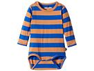 mini rodini - Block Stripe Long Sleeve Bodysuit (Infant)