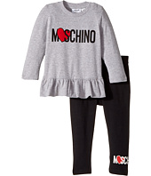 Moschino Kids - Logo Heart T-Shirt & Leggings Set (Infant/Toddler)