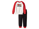 Moschino Kids - 'I Love Moschino' Teddy Bear Sweat Top & Pants (Infant/Toddler)