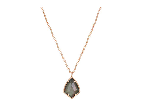 Kendra Scott Cory Necklace - Rose Gold/Crystal Gray Illusion