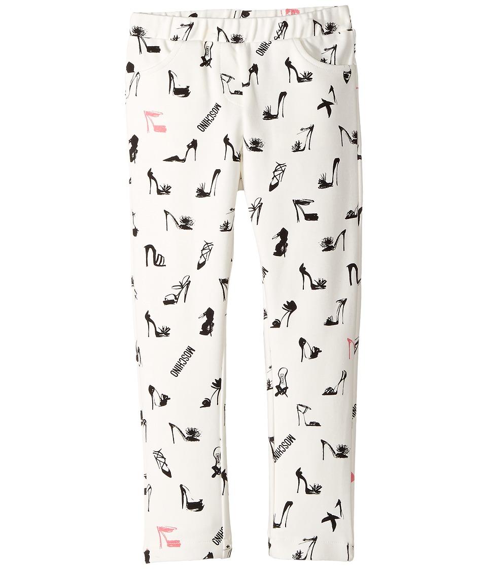 Moschino Kids - All Over High Heel Print Pants