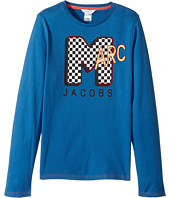 Little Marc Jacobs - MTV Style Long Sleeve T-Shirt (Big Kids)