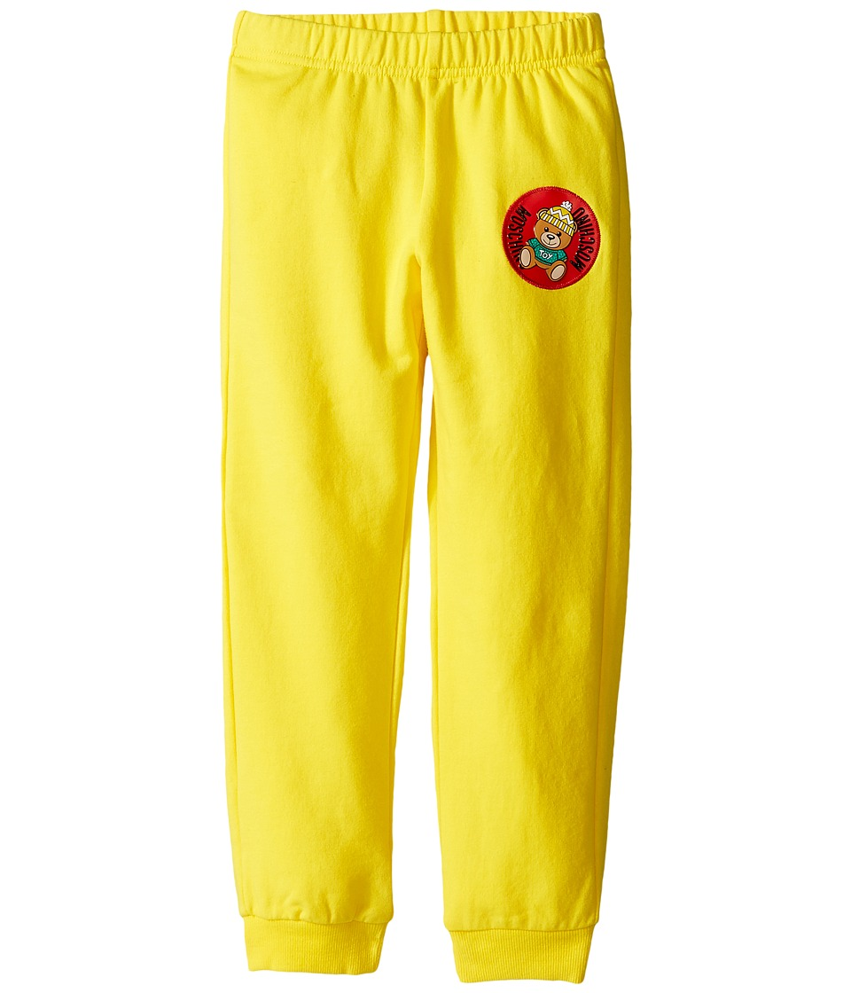 Moschino Kids - Sweatpants w/ Teddy Bear Patch on Front