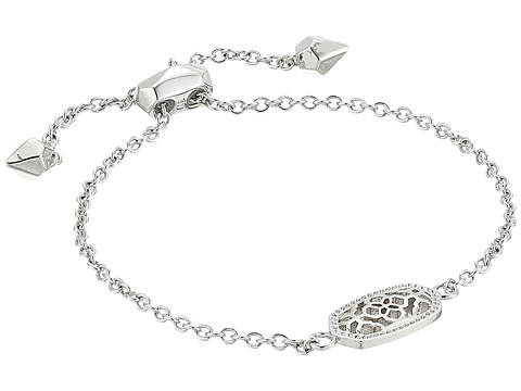 Kendra Scott Elaina Bracelet - Rhodium Filigree Metal