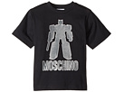 Moschino Kids Graphic Transformer Short Sleeve T-Shirt (Little Kids/Big Kids)