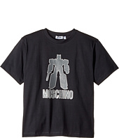 Moschino Kids - Graphic Transformer Short Sleeve T-Shirt (Big Kids)