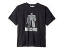 Moschino Kids Graphic Transformer Short Sleeve T-Shirt (Big Kids)