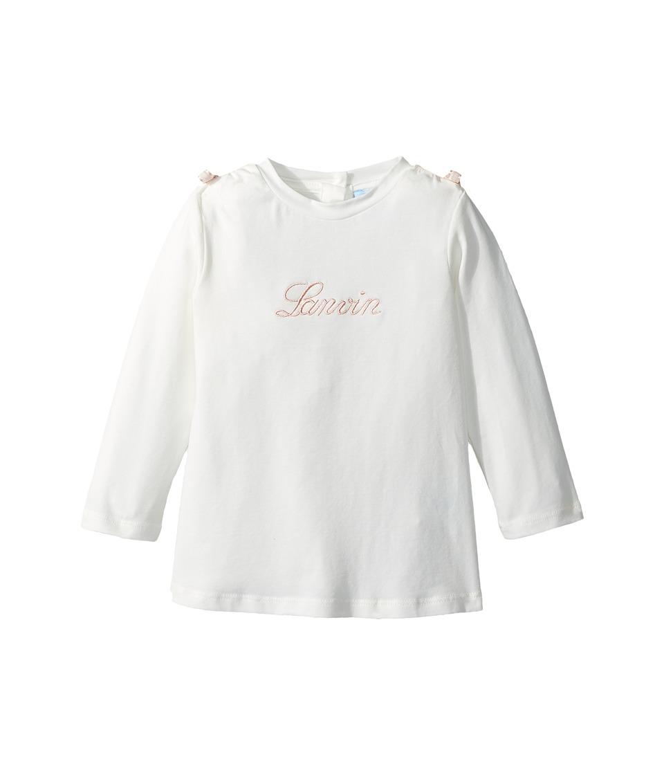 Lanvin Kids - Long Sleeve Logo T