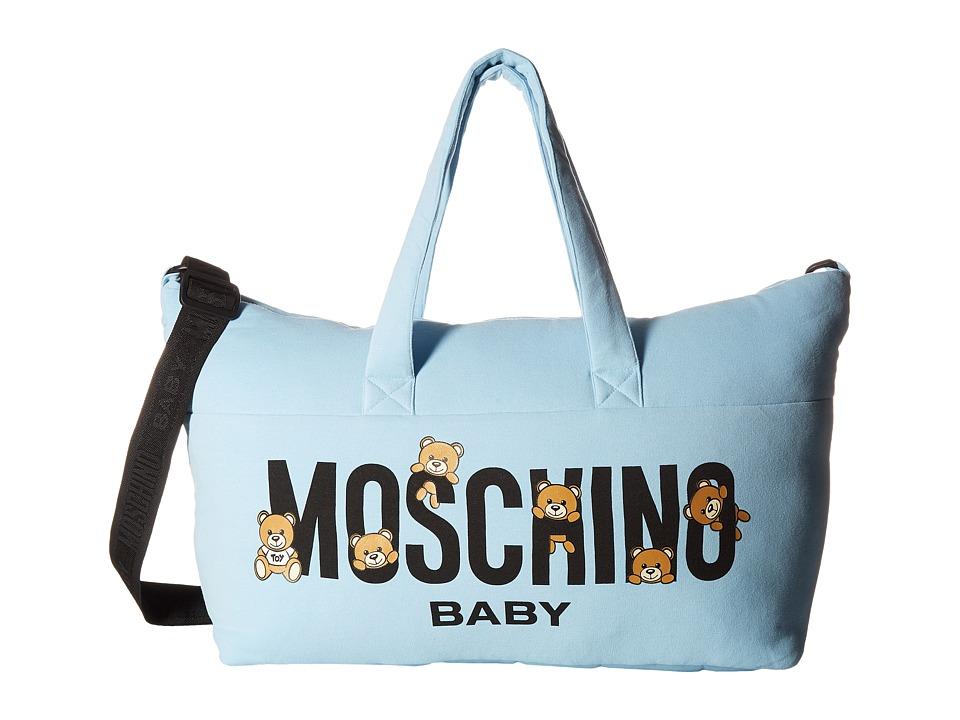 Moschino Kids - Teddy Bear Logo Diaper Bag Changing Mat