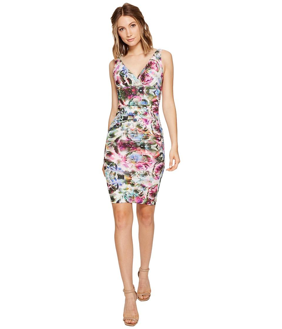 Nicole Miller Krista Coton Metal Dress (Multi) Women