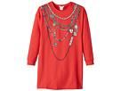 Little Marc Jacobs Essential Trompe L'Oeil Long Sleeve Dress (Little Kids/Big Kids)