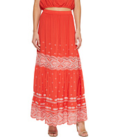 Nicole Miller - La Plage By Nicole Miller Kalina Embroidered Skirt