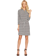 Donna Morgan - 3/4 Sleeve Jersey Shirtdress