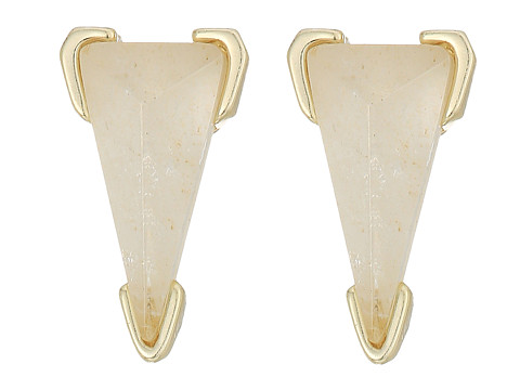 Kendra Scott Honor Earrings - Gold/Crystal Ivory Illusion