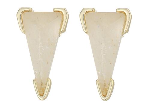 Kendra Scott Honor Earrings - Gold/Crystal Ivory Illusion