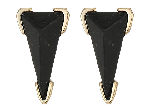 Kendra Scott Honor Earrings - Brass/Black Granite