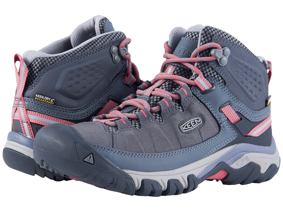 Keen Targhee Exp Mid WP (Magnet/Teaberry) Women's Shoes